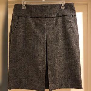 J. Crew Metallic Tweed Pencil Skirt Sz 10